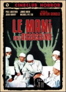 Le mani dell'assassino di Newton Arnold - DVD