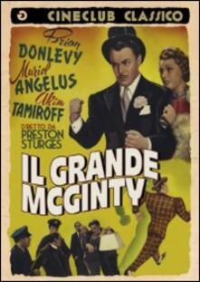 Il grande McGinty di Preston Sturges - DVD