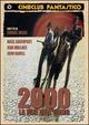 Cover Dvd 2000: la fine dell'uomo