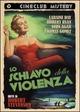 Cover Dvd Schiavo della violenza