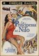 Cover Dvd DVD La principessa del Nilo