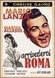 Cover Dvd DVD Arrivederci Roma