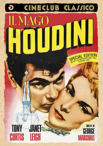 Il mago Houdini. Special Edition (DVD) di Burton L. King,George Marshall - DVD