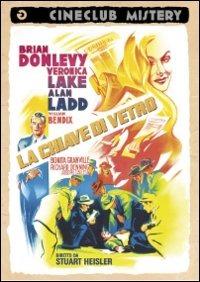 Cover Dvd La chiave di vetro