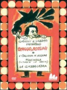 Omaggio a Rossini di Emanuele Luzzati,Giulio Gianini - DVD