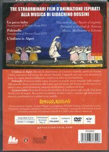Omaggio a Rossini di Emanuele Luzzati,Giulio Gianini - DVD - 2