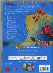 Peo si tuffa nell'arte di Fusako Yusaki - DVD - 2