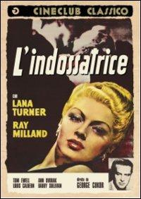 Cover Dvd L' indossatrice
