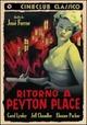 Cover Dvd Ritorno a Peyton Place