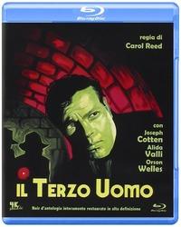 Cover Dvd Il terzo uomo (Blu-ray)