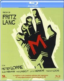 M, il mostro di Düsseldorf di Fritz Lang - Blu-ray