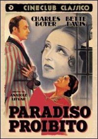 Cover Dvd Paradiso proibito (DVD)