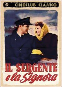 Cover Dvd sergente e la signora (DVD)