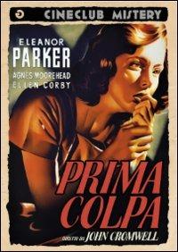Cover Dvd Prima colpa (DVD)