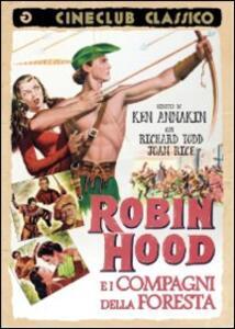 Robin Hood e i compagni della foresta di Ken Annakin - DVD