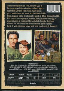 Robin Hood e i compagni della foresta di Ken Annakin - DVD - 2
