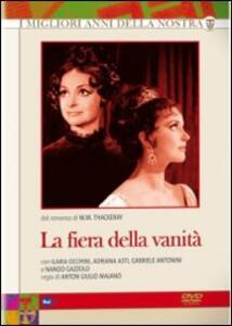 La fiera della vanità (3 DVD) di Anton Giulio Majano - DVD