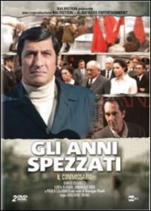 Gli anni spezzati. Il commissario (2 DVD) di Graziano Diana - DVD