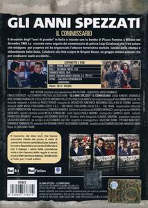 Gli anni spezzati. Il commissario (2 DVD) di Graziano Diana - DVD - 2