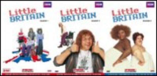 Little Britain. Stagione 1 - 3 (4 DVD) - DVD