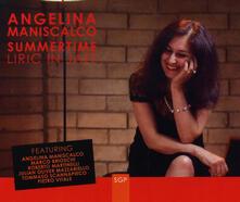 Liric in Jazz - CD Audio di Angelina Maniscalco