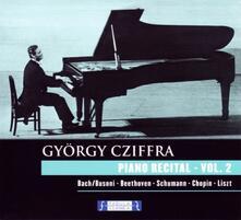 Piano Recital vol.2 - CD Audio di György Cziffra