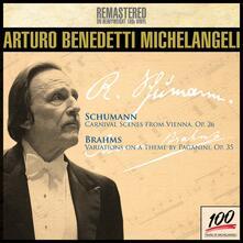 Carnevale di Vienna / Variazioni su un tema di Paganini - Vinile LP di Johannes Brahms,Robert Schumann,Arturo Benedetti Michelangeli