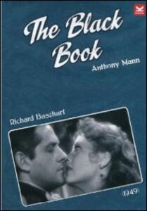 The Black Book di Anthony Mann - DVD