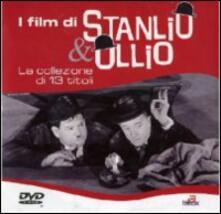 I film di Stanlio & Ollio (13 DVD) di John G. Blystone,Gordon Douglas,Alfred Goulding,James W. Horne,George Marshall,Ray McCarey,Gus Meins,James Parrott,Hal Roach,Charles Rogers,William A. Seiter,A. Edward Sutherland