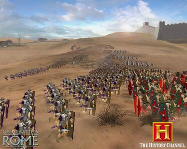 History Channel - Great Battles of Rome - 3