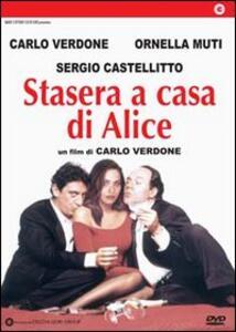 Stasera a casa di Alice di Carlo Verdone - DVD