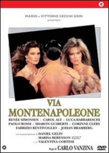 Via Montenapoleone di Carlo Vanzina - DVD