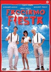 Facciamo fiesta di Angelo Longoni - DVD
