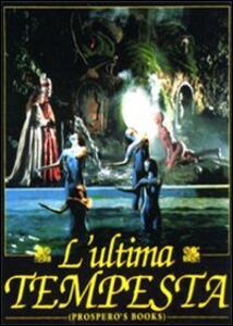 L' ultima tempesta di Peter Greenaway - DVD
