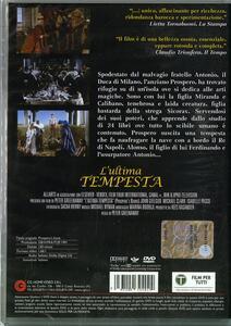 L' ultima tempesta di Peter Greenaway - DVD - 2