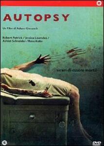 Autopsy di Adam Gierasch - DVD