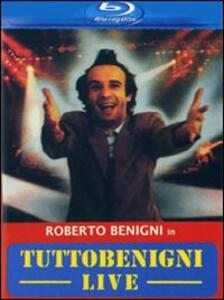 Tuttobenigni dal vivo di Giuseppe Bertolucci,Roberto Benigni - Blu-ray