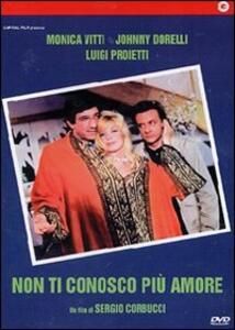Non ti conosco più amore di Sergio Corbucci - DVD