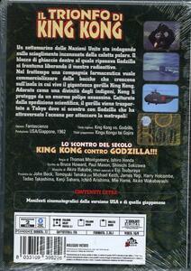 Il trionfo di King Kong di Inoshiro Honda,Thomas Montgomery - DVD - 2