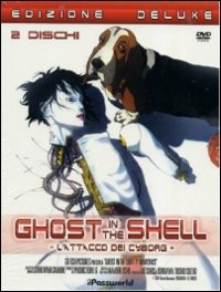 Cover Dvd Ghost in the Shell. L'attacco dei Cyborg