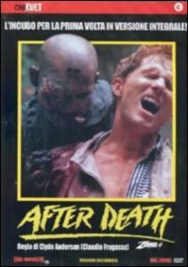 After Death. Oltre la morte. Zombi 4 di Claudio Fragasso - DVD