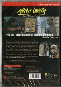 After Death. Oltre la morte. Zombi 4 di Claudio Fragasso - DVD - 2