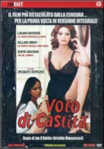 Voto di castità di Joe D'Amato - DVD