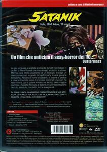 Satanik di Piero Vivarelli - DVD - 2