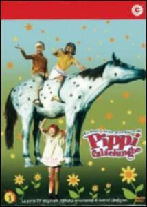 Pippi Calzelunghe. Vol. 01 di Olle Hellbom - DVD