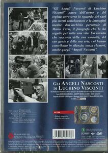 Gli angeli nascosti di Luchino Visconti di Silvia Giulietti - DVD - 2