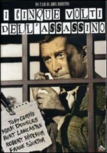 I cinque volti dell'assassino di John Huston - DVD