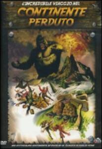 L' incredibile viaggio nel continente perduto di Juan Piquer Simon - DVD