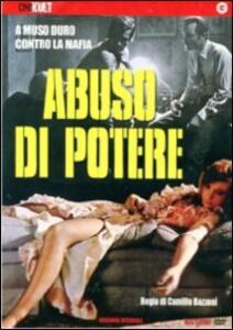 Abuso di potere di Camillo Bazzoni - DVD