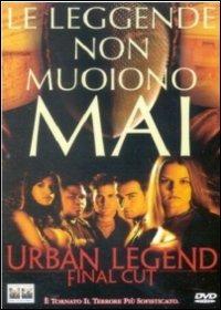 Cover Dvd Urban Legend Final Cut (DVD)